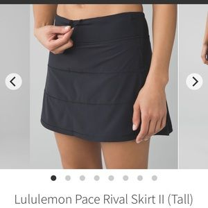 Lululemon - Pace Rival Skirt (TALL)